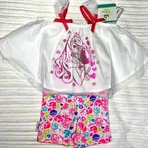 🌸Disney Baby NWT two piece outfit